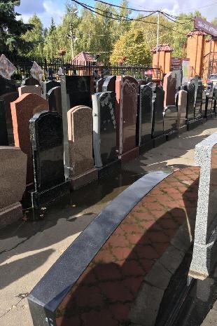 Большой выбор памятников и надгробий - Москва